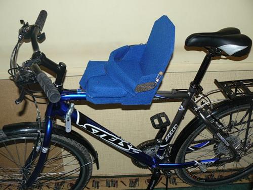 Сиденье для велосипеда детское своими руками
