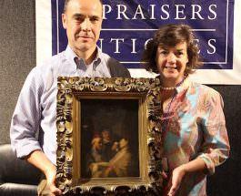 Картина «Бессознательный пациент» картина Рембранта. в руках счаттливых наследников.