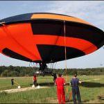На авиашоу МАКС-2011 появилась летающая тарелка