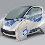 Потрясающая Honda Microcommuter EV появится на автошоу в Токио