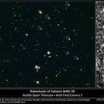 Протокластер из 5 галактик