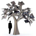 Electree City – концепт металлического дерева для мегаполисов