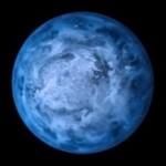 В космосе обнаружили планету синего оттенка