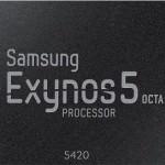 Samsung представляет новую версию процессора Exynos 5 Octa для мобильных устройств