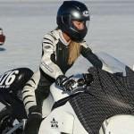 Отважная девушка объедет на мотоцикле весь мир