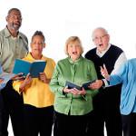 Сердца исполнителей, поющих хором, подстраиваются под ритм музыки