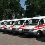 Кабмин подарит Харьковской области 70 «скорых»