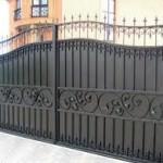 Ворота для загородного участка
