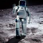 Японские роботы на луне