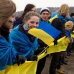 Цепь единства объединила Западную и Восточную Украину