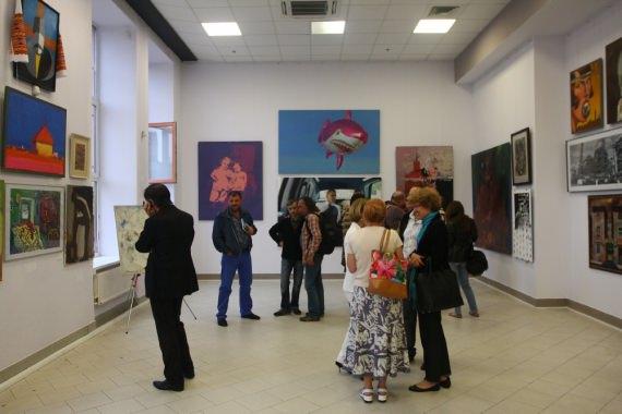 В Киеве открыли выставку картин