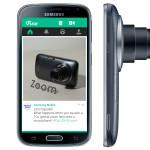 Samsung представляет Galaxy K zoom с приложением Vine от Twitter