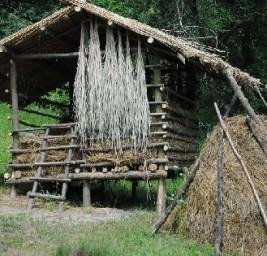 стог сена в Украине