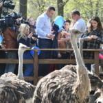 Мэр Киева посетил местный зоопарк