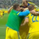 Сборная Украины обыграла Люксембург со счетом 3:0