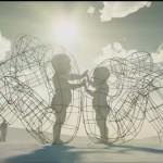 На популярном фестивале Burning Man в США впервые появилась инсталляция художника из Украины