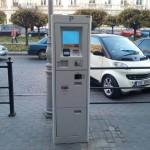 Впервые в Украине парковку можно оплатить бесконтактно