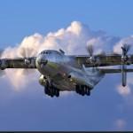 Впервые, после семилетнего простоя в небо поднялся восстановленный Ан-22 Антей