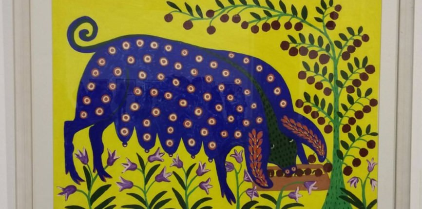 Фото картины «Свиня-красуля»