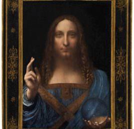Картина Сальватор Мунди.