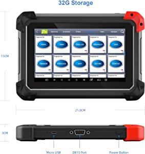 Программатор ключей и автомобильный сканер XTOOL ZE400 PRO